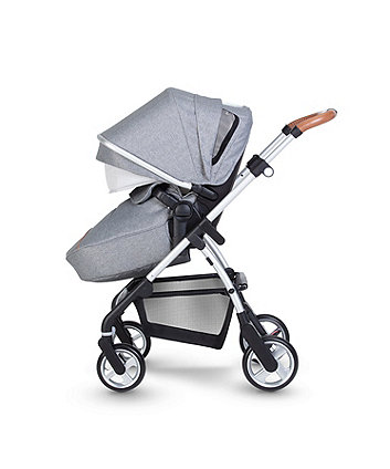 Silver Cross pursuit pram and pushchair - stone grey