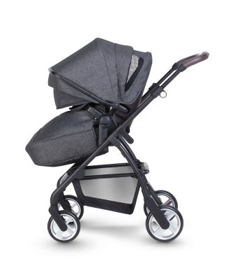 Silver Cross pursuit pram and pushchair - charcoal black *exclusive to mothercare*