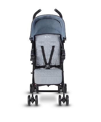 Silver Cross zest stroller - powder blue *exclusive to mothercare*