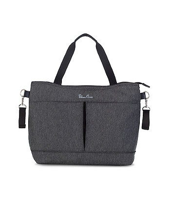 Silver Cross pursuit changing bag - charcoal black *exclusive to mothercare*