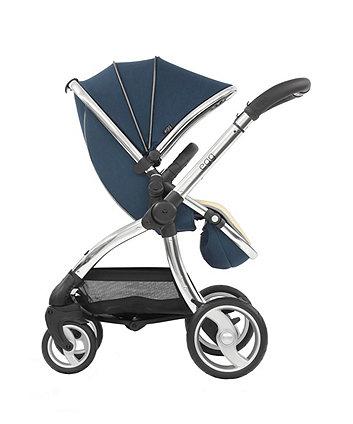 egg® stroller - deep navy/mirror