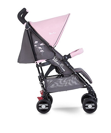 Silver Cross pop star stroller - pink daisies *exclusive to mothercare*