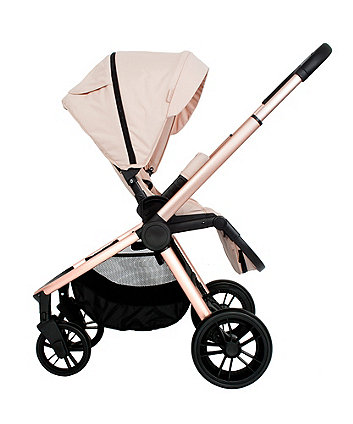 My Babiie MB400 rose gold blush travel system with i-Size car seat *exclusive to mothercare*