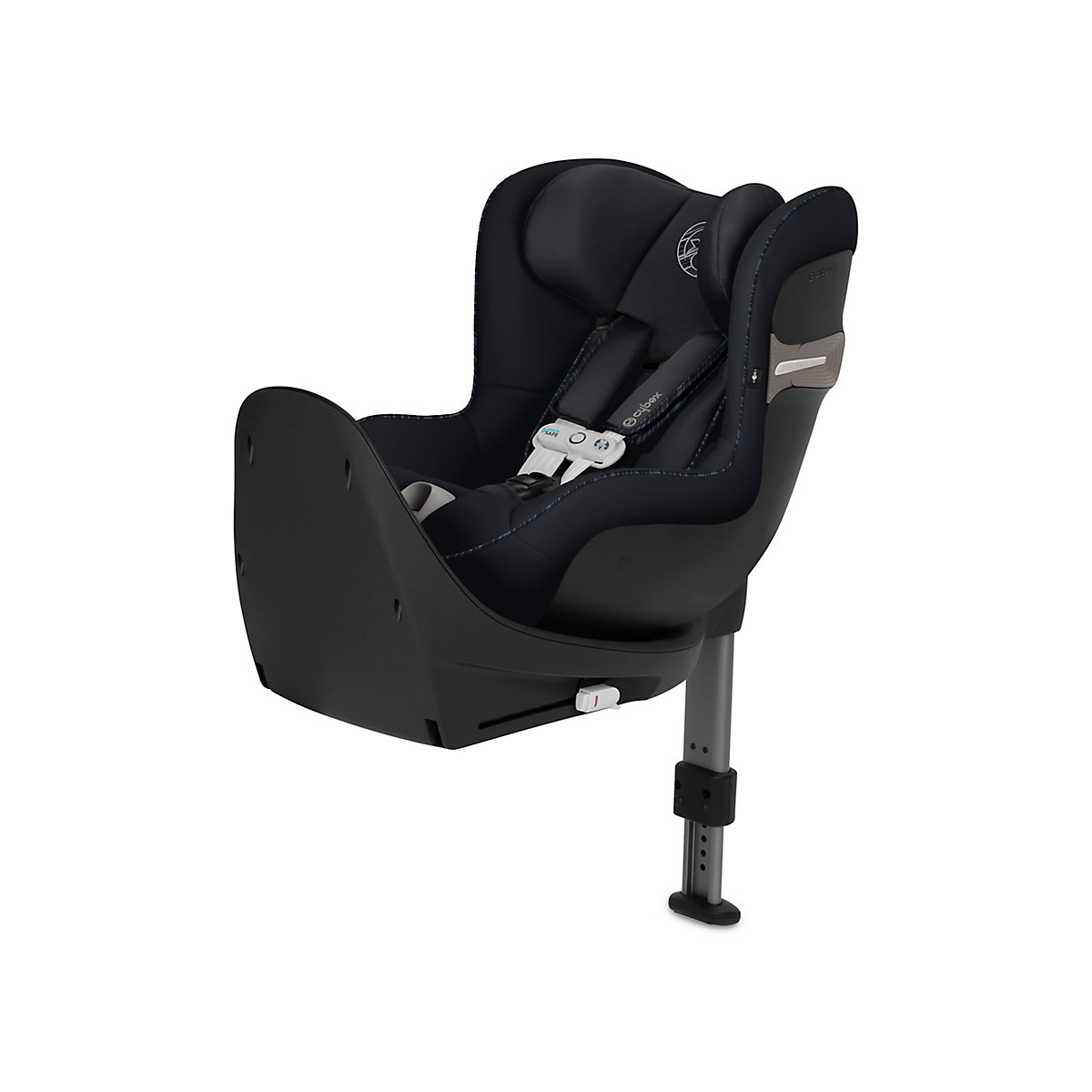 Cybex sirona s i-size car seat with sensorsafe chest clip - urban black