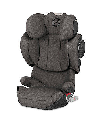 Cybex solution z fix plus highback booster - manhattan grey