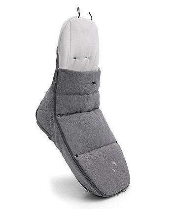 Bugaboo footmuff - classic grey melange
