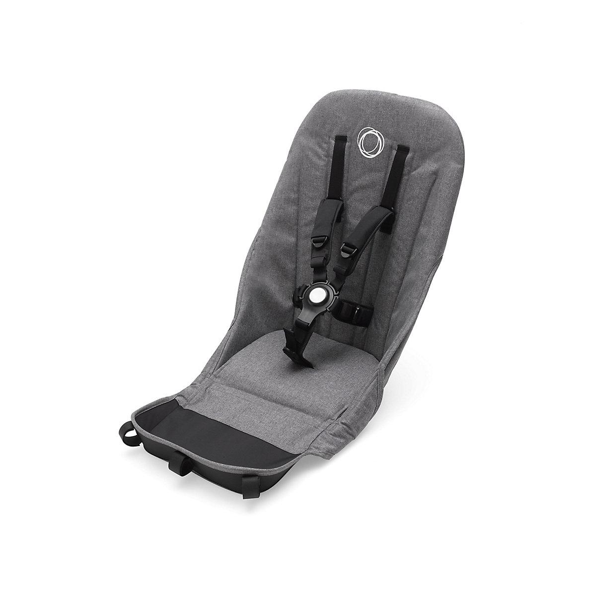 Bugaboo donkey2 seat fabrics - grey melange