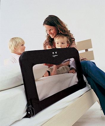 BabyDan bedrail sleep'n'safe folding bed guard - black