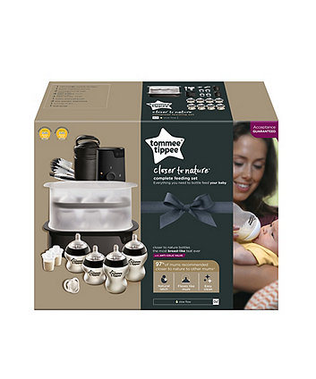 Tommee Tippee complete feeding kit - black