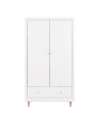 Siena wardrobe - white/beech