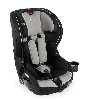 NeoBaby syrius isofix group 1/2/3 highback booster car seat - anthracite