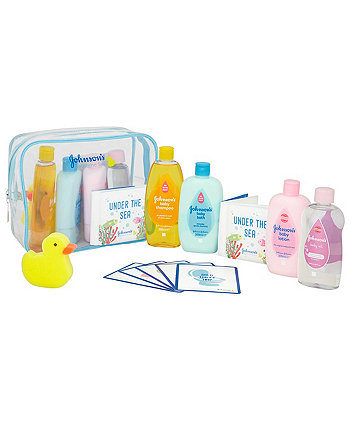 Johnson & Johnson baby bathtime gift set