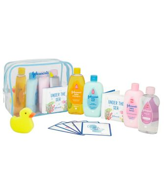 Johnson & Johnson baby bathtime gift set