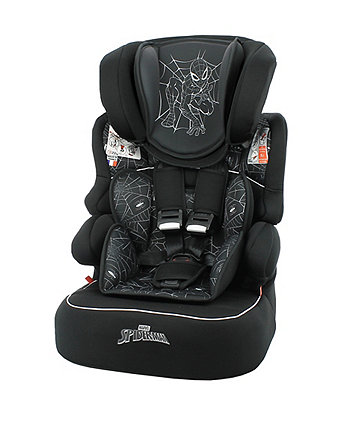 Marvel spiderman beline sp lx high back booster car seat *exclusive to mothercare*