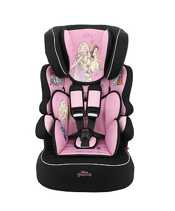 Disney princess beline sp lx high back booster car seat *exclusive to mothercare*