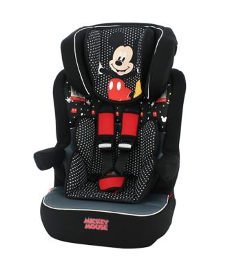 Disney imax sp high back booster car seat - mickey mouse *exclusive to mothercare*