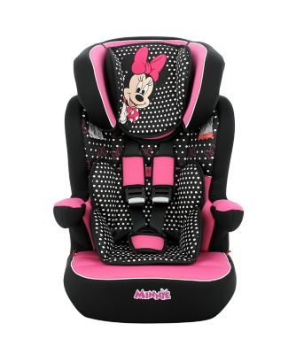 Disney imax sp high back booster car seat - minnie mouse *exclusive to mothercare*
