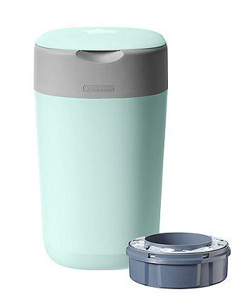 Tommee Tippee twist and click advanced nappy disposal sangenic bin - green
