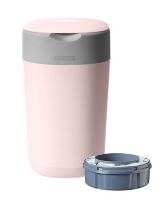 Tommee Tippee twist and click advanced nappy disposal sangenic bin - pink