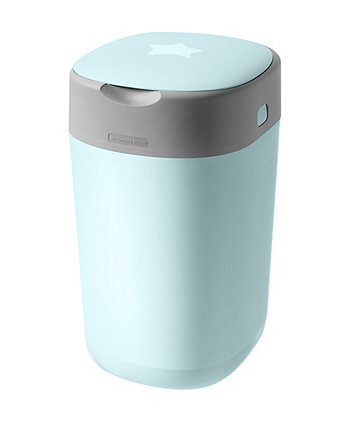 Tommee Tippee twist and click advanced nappy disposal sangenic bin - blue