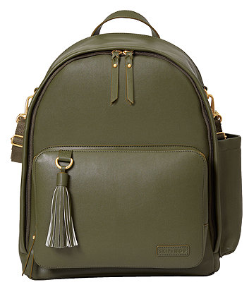 Skip Hop greenwich simply chic backpack - olive