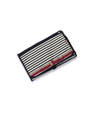 Babymel change station - navy stripe