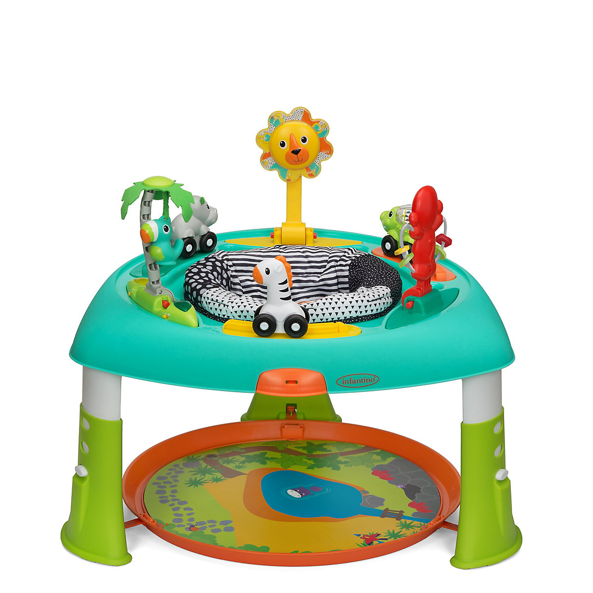 Infantino Sit. Spin And Stand Entertainer Activity Table