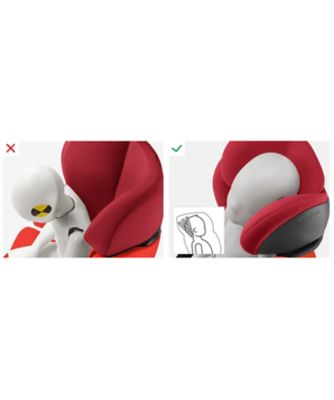 Cybex solution m group 2/3 highback booster car seat- cobblestone
