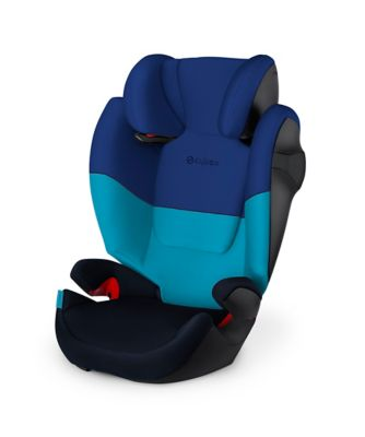 Cybex solution m group 2/3 highback booster car seat- blue moon
