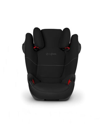 Cybex solution m group 2/3 highback booster car seat- pure black