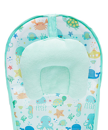 mothercare under the sea baby bather - blue