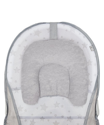 mothercare baby bather - grey stars
