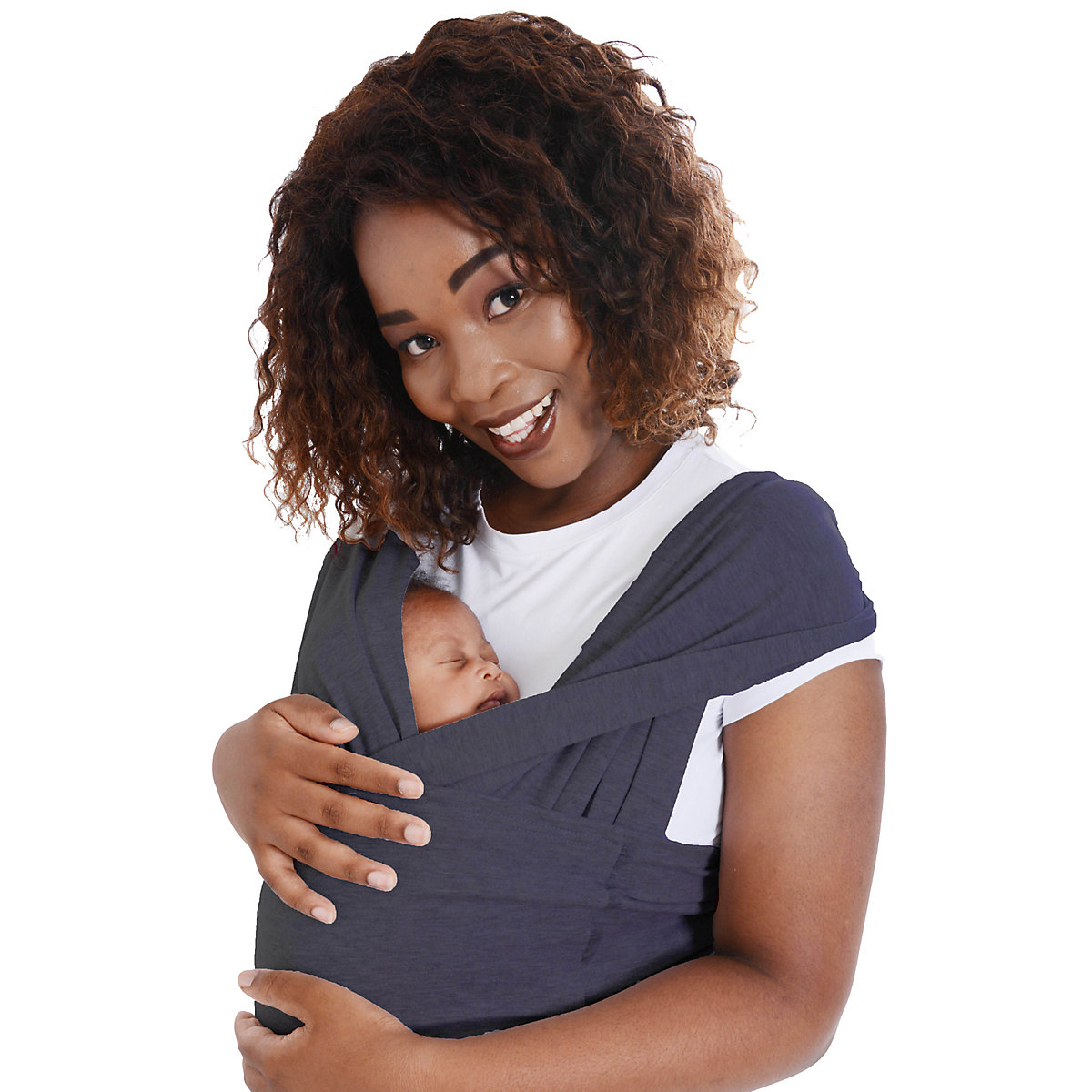 Dreamgenii SnuggleRoo baby carrier - charcoal grey *exclusive to mothercare*