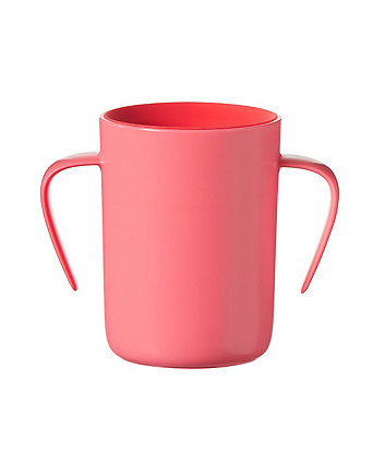 Tommee Tippee easi-flow 360 handled cup - 6 months+ red