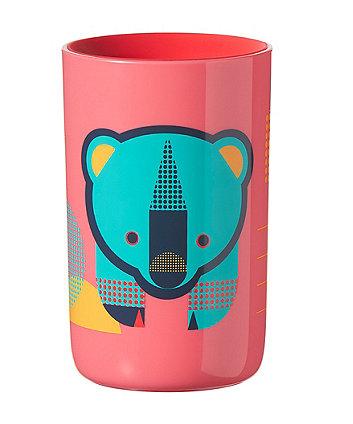Tommee Tippee easi-flow 360 beaker cup - 12 months+ red