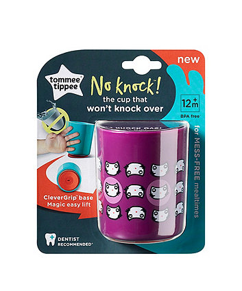 Tommee Tippee no knock cup small - 6 months+ purple