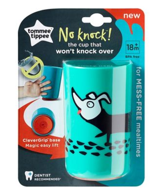 Tommee Tippee no knock cup large - 12 months+ blue
