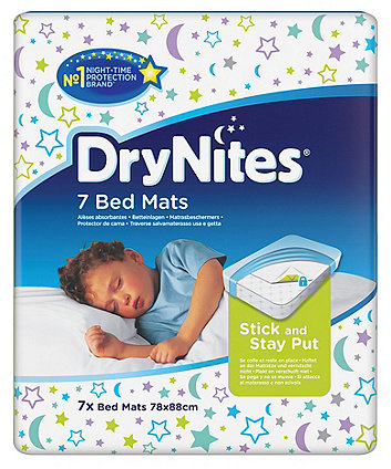 Huggies drynites bed mats - 7 mats