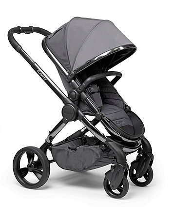 iCandy peach pushchair and carrycot combo - twilight phantom