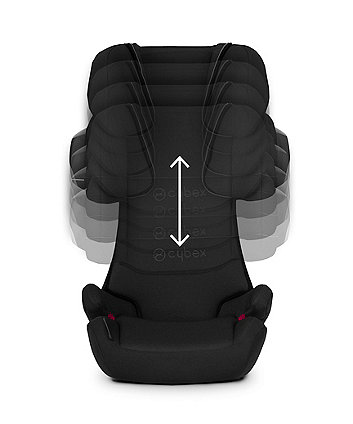 Cybex solution x2-fix highback booster seat - gray rabbit