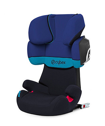 Cybex solution X2-fix highback booster seat - blue moon