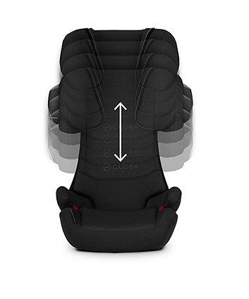 Cybex solution X2-fix highback booster seat - cobblestone