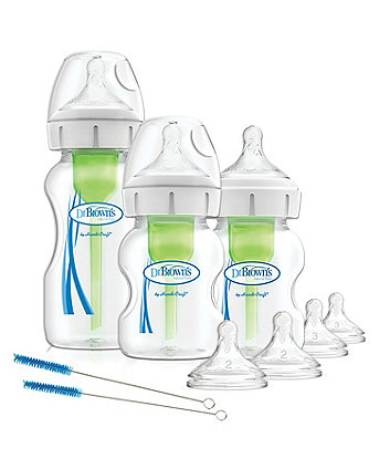 Dr Brown's options+ anti-colic starter kit