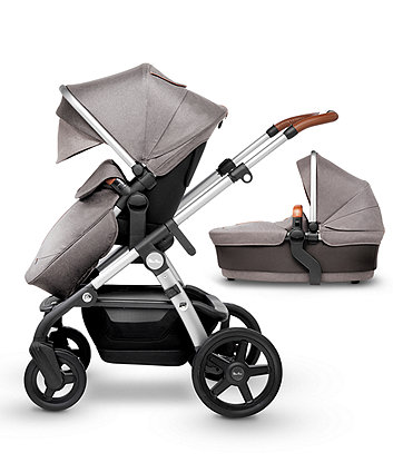 Silver Cross wave pram and pushchair - sable