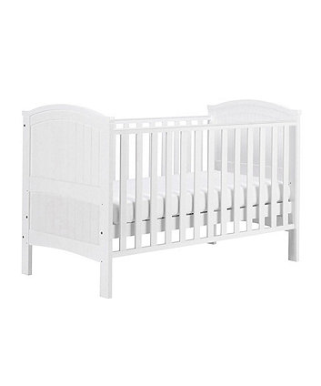 East Coast henley cot bed - white