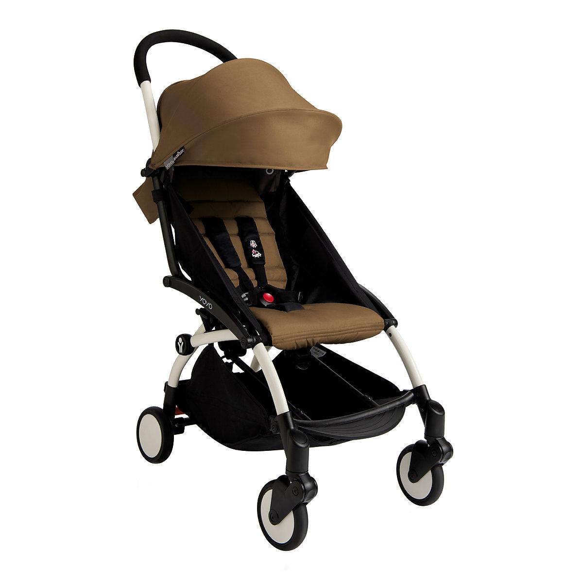 Babyzen YOYO+ 6+ stroller - white/toffee