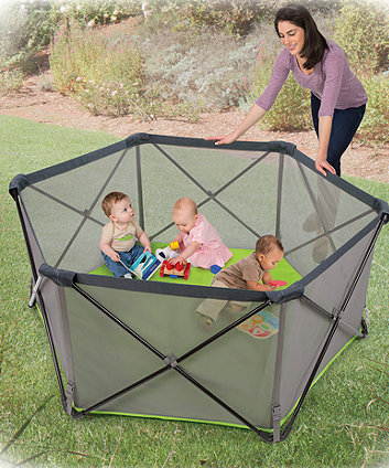 Summer Infant pop n play portable playard - black