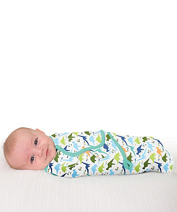 Summer Infant swaddleme® original oragami dino small swaddle blankets - 3 pack