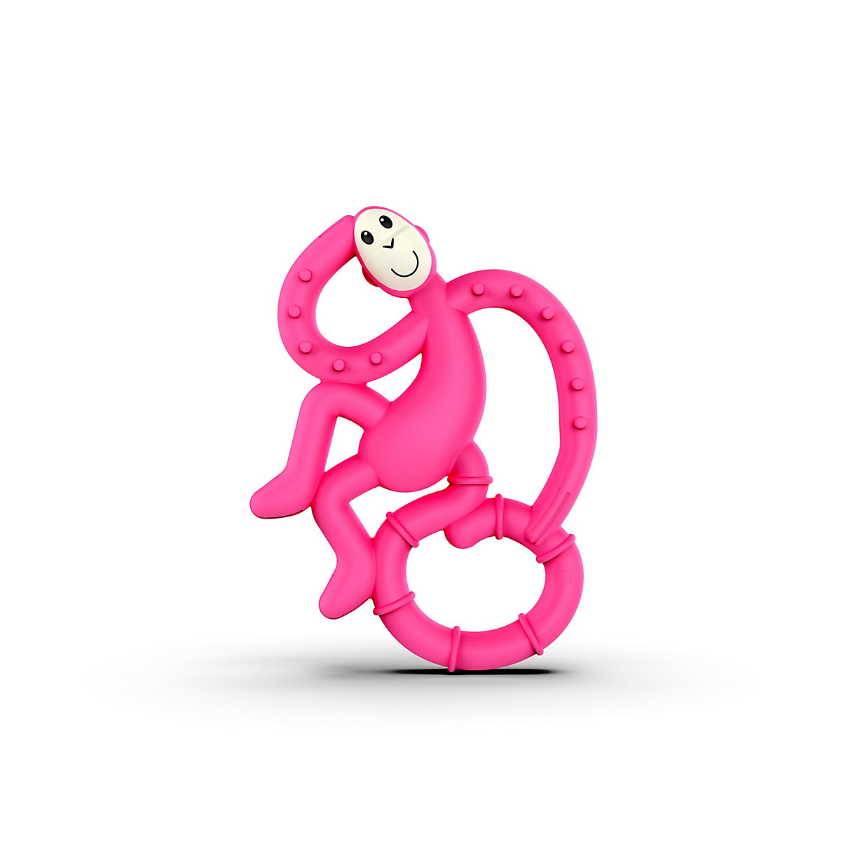 Matchstick Monkey Mini Monkey Teether   Pink