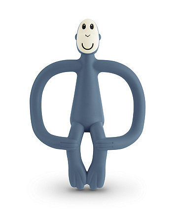 Matchstick Monkey teething toy - airforce blue